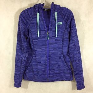 The North Face Hoodie Jacket Full Zip Front Size S